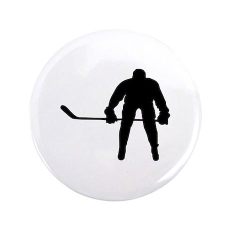"Hockey 3.5"" Button"