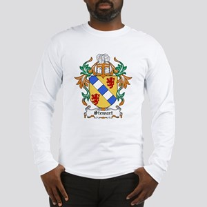 Stewart Coat of Arms Long Sleeve T-Shirt