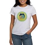 Women's T-Shirt Shiva Shakti Brain Large