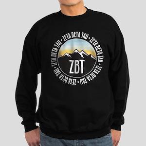 Zeta Beta Tau Mountains Sunset Sweatshirt