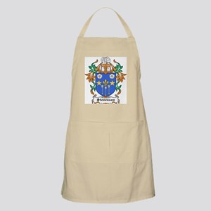 Stevenson Coat of Arms BBQ Apron