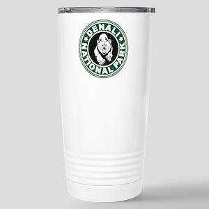 Denali Green Circle Stainless Steel Travel Mug