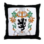 Stapleton Coat of Arms Throw Pillow