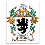 Stapleton Coat of Arms Small Poster
