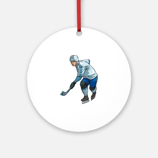 Hockey Ornament (Round)
