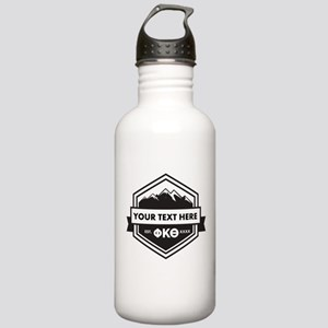 PKT Mountain Ribbon Pe Stainless Water Bottle 1.0L
