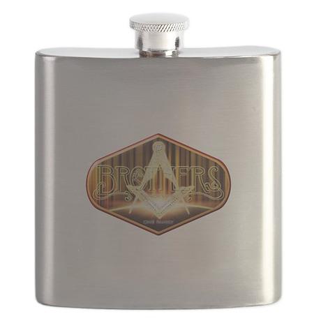 Masonic Brothers Flask
