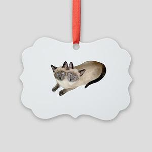 Siamese Twins Picture Ornament