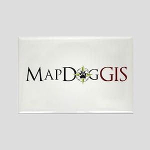 MapDog GIS 4 Rectangle Magnet