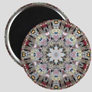 Crystals Mandala Magnet