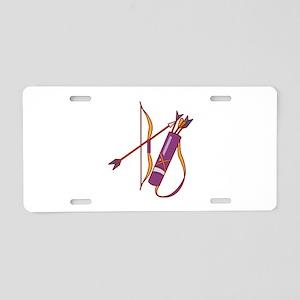 Archery Aluminum License Plate