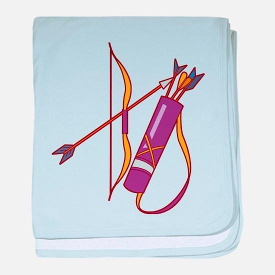 Archery baby blanket