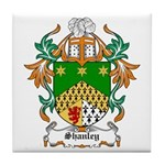 Shanley Coat of Arms Tile Coaster