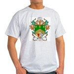 Shanley Coat of Arms Ash Grey T-Shirt
