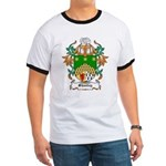 Shanley Coat of Arms Ringer T