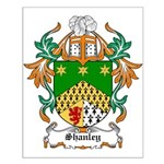 Shanley Coat of Arms Small Poster