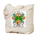 Shanley Coat of Arms Tote Bag