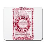 Chicago-25-RED Mousepad