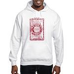 Chicago-25-RED Hooded Sweatshirt