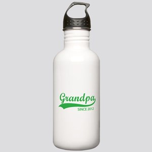 Grandpa since 2012 Stainless Water Bottle 1.0L