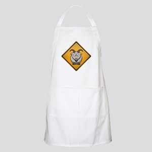 Goat Warning Sign Apron