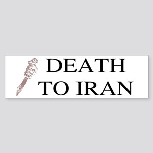Death To Iran Bumper Sticker