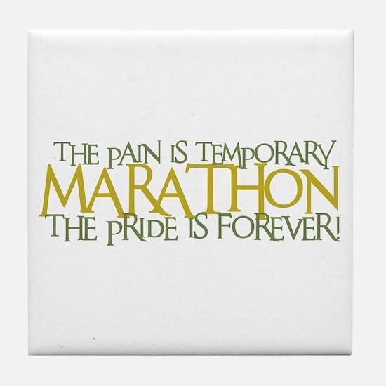Marathon- The Pride is Forever Tile Coaster