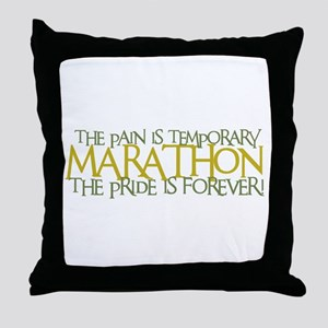 Marathon- The Pride is Forever Throw Pillow