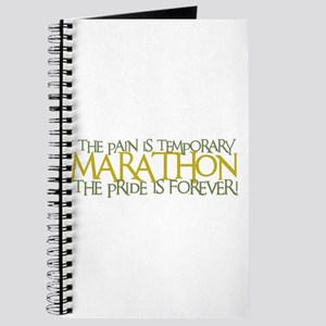 Marathon- The Pride is Forever Journal