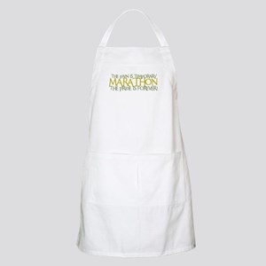 Marathon- The Pride is Forever BBQ Apron