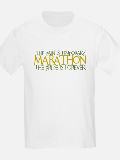 Marathon- The Pride is Forever Kids T-Shirt