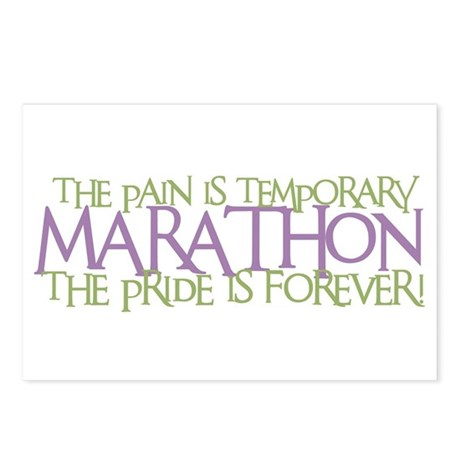 Marathon- The Pride is Forever Postcards (Package