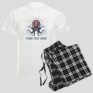 Zeta Beta Tau Octopus Pajamas