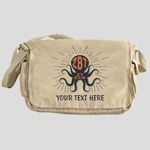 Zeta Beta Tau Octopus Messenger Bag