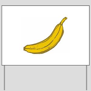 Banana Yard Sign