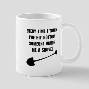 Bottom Shovel Mug