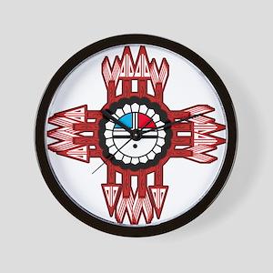 ZUNI SUN FACE ZIA Wall Clock