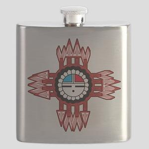 ZUNI SUN FACE ZIA Flask