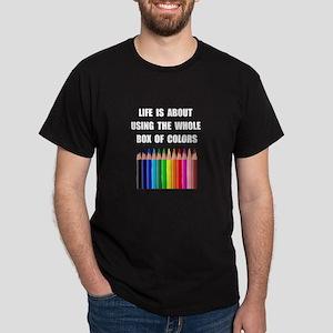 Box Of Colors Dark T-Shirt