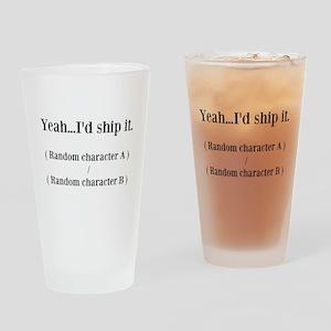Random Shipping Drinking Glass
