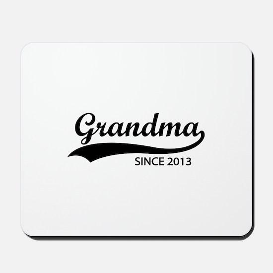 Grandma since 2013 Mousepad