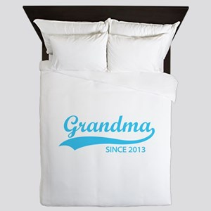 Grandma since 2013 Queen Duvet