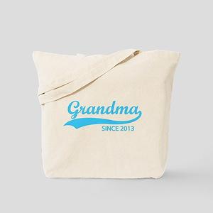 Grandma since 2013 Tote Bag