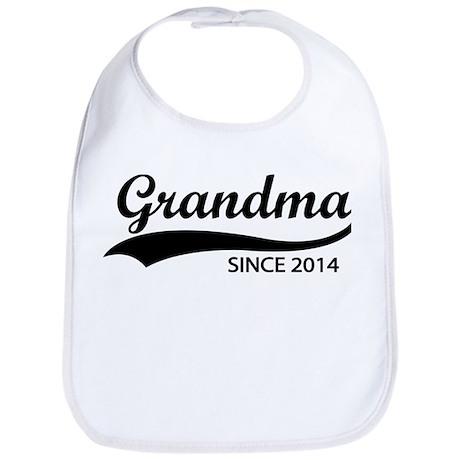 Grandma since 2014 Bib
