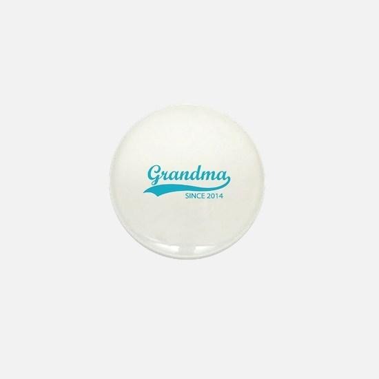 Grandma since 2014 Mini Button