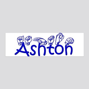 Ashton in ASL 36x11 Wall Decal