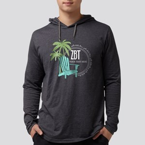 Zeta Beta Tau Beach Chair Mens Hooded Shirt