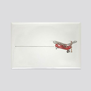 Tailwheels Signature Plane Rectangle Magnet