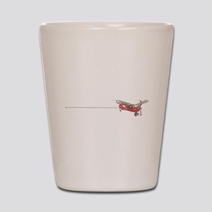 Tailwheels Signature Plane Shot Glass