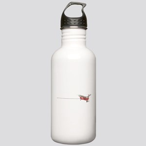 Tailwheels Signature Plane Stainless Water Bottle